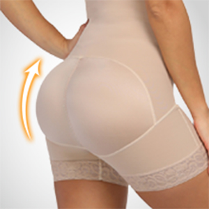 shapewear for women butt lifter body shaper for women crotchless thigh slimming lace shapewear