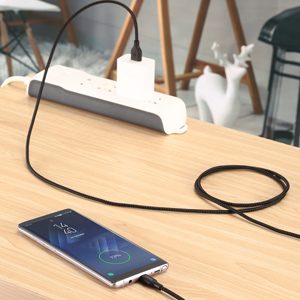 noot products 6ft usb-c braided nylon cable