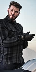 Renegade; aramide; kevlar; checkered shirt;