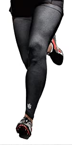 Germanium Recovery Compression Outdoor Full Length Leg Knee Sleeve