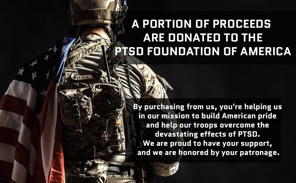 Donation to PTSD Foundation of America