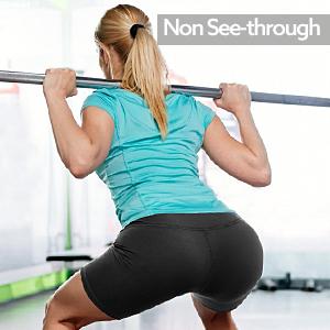 no see-through yoga shorts