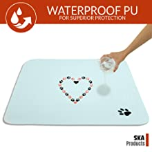 cute resuable washable puppy dog training pads housebreaking travel incontinence  pets waterproof