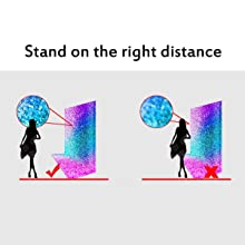 Right distance