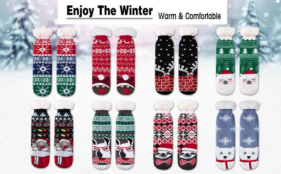 more Christmas Socks