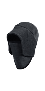 Fleece 2 in 1 Hat