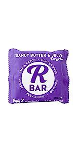 peanut butter and jelly bar bars snacks protein bites r bar  beanut