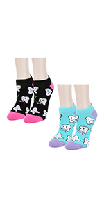 ankle teeth socks