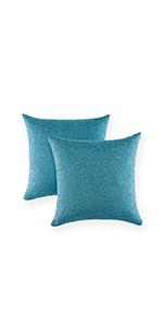 gray sleep throw pillow18x18pillowcase bright blue throw pillow cover decorative pillow for bed blue