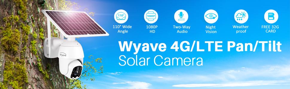 4G LTE camera