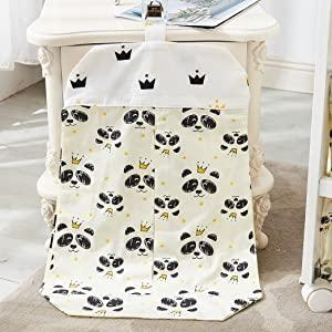 panda diaper stacker