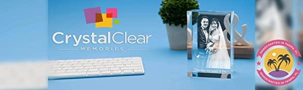 Crystal Clear Memories Logo, CCM Logo, CCM