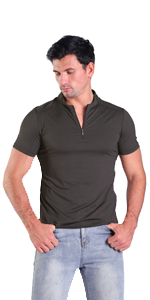 dark grey mens henley shirts