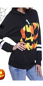 Halloween Shirts Hoodies for Women