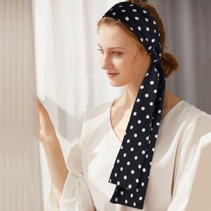 polka dots headband