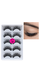 dramatic mink lashes