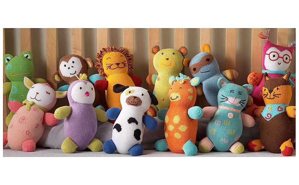 Organic stuffed animals   Ethically made toys