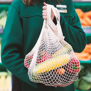 Long handle Grocery Bags