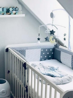 crib bumper breathable lining pads padding
