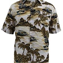 hawaiian t shirts vacations shorts sleeve Button-down