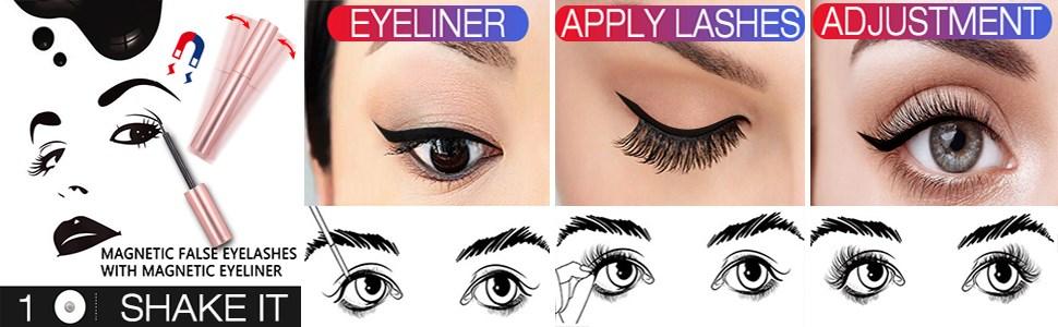 magnetic eyelashes natural look