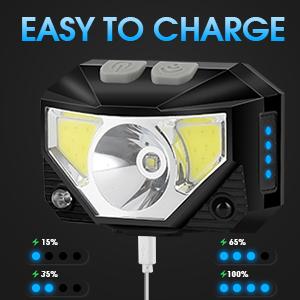 rechargeable headlamp led headlamp headlamp head flashlight bright flashlight head lights flashlight