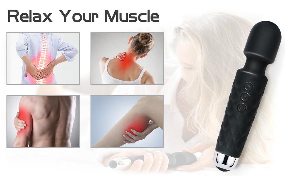 HAPME Personal Handheld Wand Massager