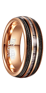 cable tungsten ring
