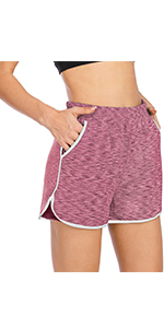Workout shorts for women