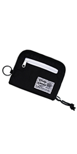 Rough Enough Travel Lanyard Neck Wallet for Men Women Zipper Credit Card Holder Wallet for Boys Girl