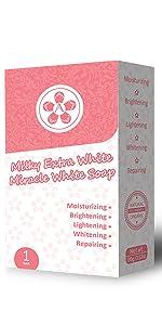 arbutee Milky White Soap