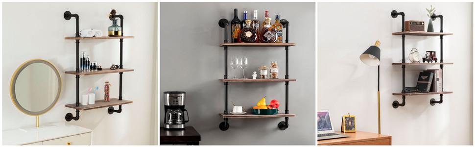 2-Tier Pipe shelf