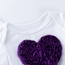 Girls Tutu Skirt Purple Baby Short Romper Infant Clothing Sets Infant Dance Skirt Lace Pettiskirt