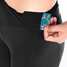 yoga shorts inner pocket