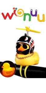 rubber duck bike bell