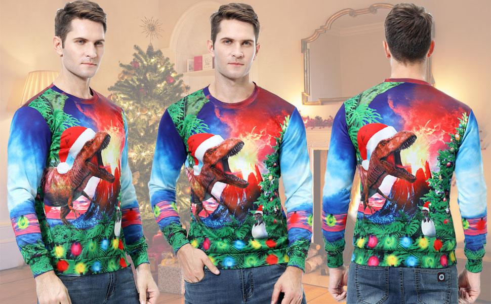 Men Women Funny Xmas Sweater Funny Christmas Sweatshirt Sweater