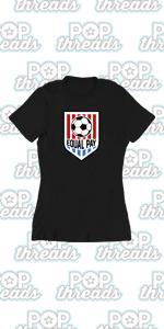 USA Soccer Crest Womens Team Men Rapinoe 2020 Graphic Tee T Shirt for Women