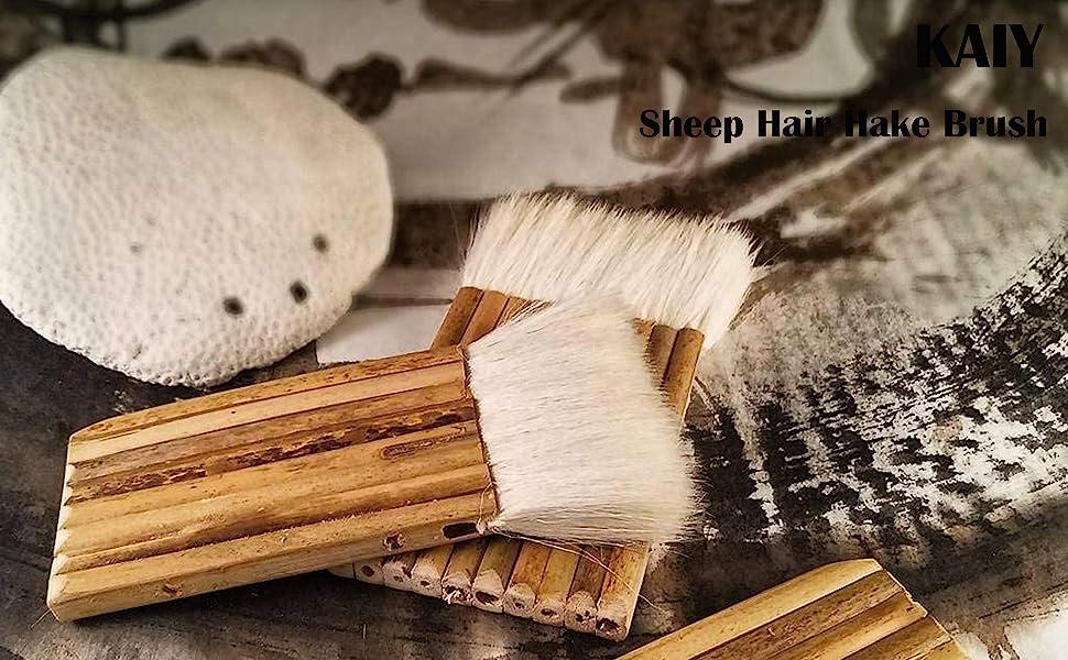 Bamboo Brush with Sheep Hair
