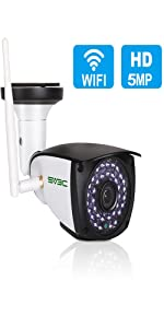5MP Outdoor WiFi Security Camera