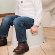 pink potty training toilet for toddlers