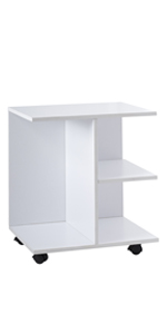 white standing table