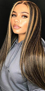 lace wigs human hair with baby hair