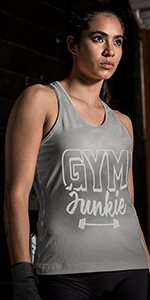 Sweat Activated Tank Gym Junkie