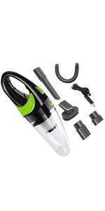 Green Handheld Vacuum