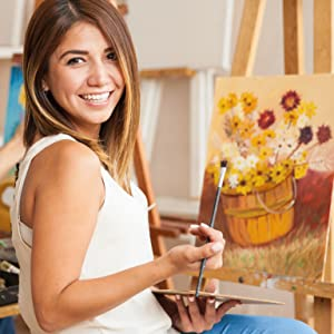 painting canvases for artists