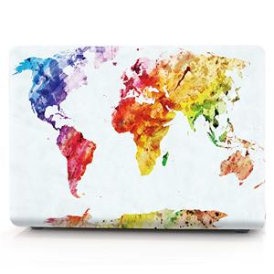 Watercolor map  case