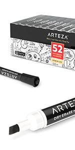 Dry-Erase-Markers-Black-Chisel-Tip---Set-of-52