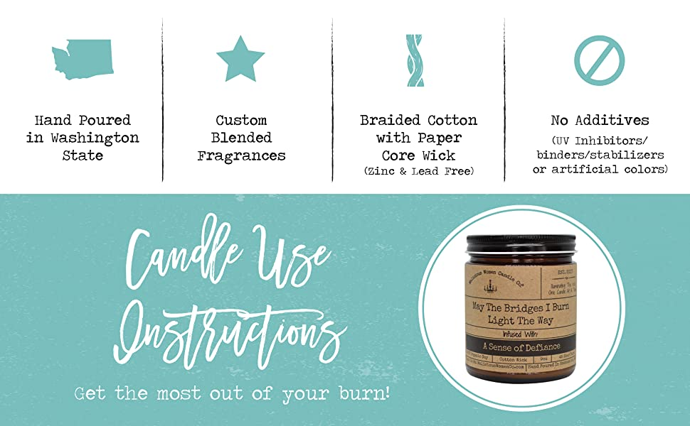 Candle Use Instructions