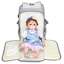 Diaper Bag Backpack with Changing Pads