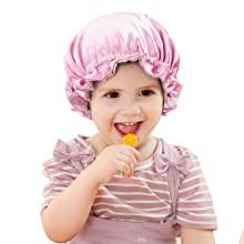 Greatremy Premium Satin Bonnet for Kids